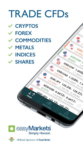 Image of easyMarkets: Trade Forex, Bitcoin, Gold and Oil 1.16.13 1