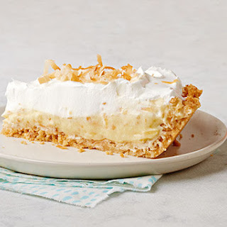 Toasted Coconut Cream Pie