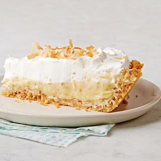 Toasted Coconut Cream Pie.