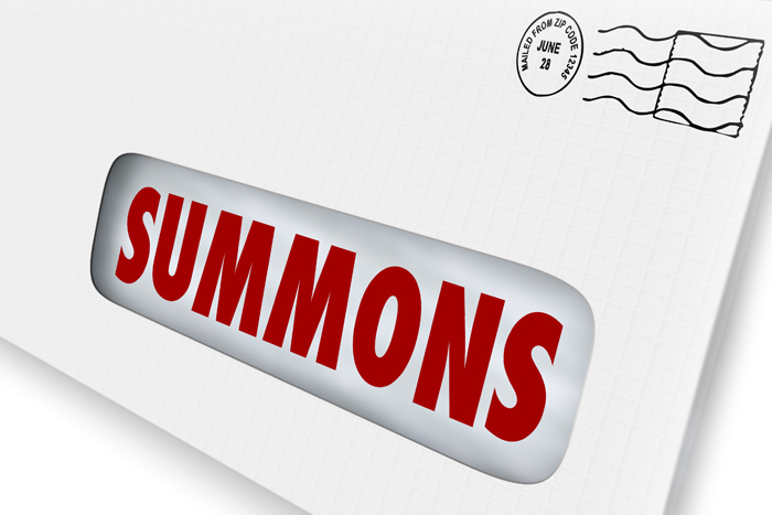 A genuine summons cannot be emailed to you but must be served on you by the sheriff of the court. Picture: 123RF