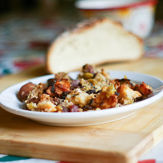 Portuguese Corn Bread Stuffing