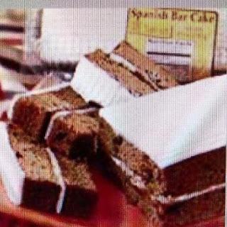 The a & P Original Spanish Bar Cake Recipe