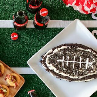 OREO Football Refridgerator Cake