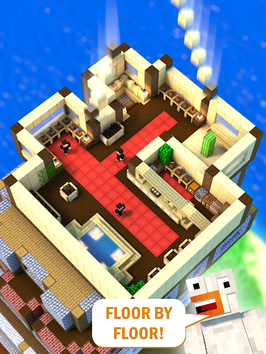 Tower Craft 3D - Idle Block Building Game modavailable screenshots 6