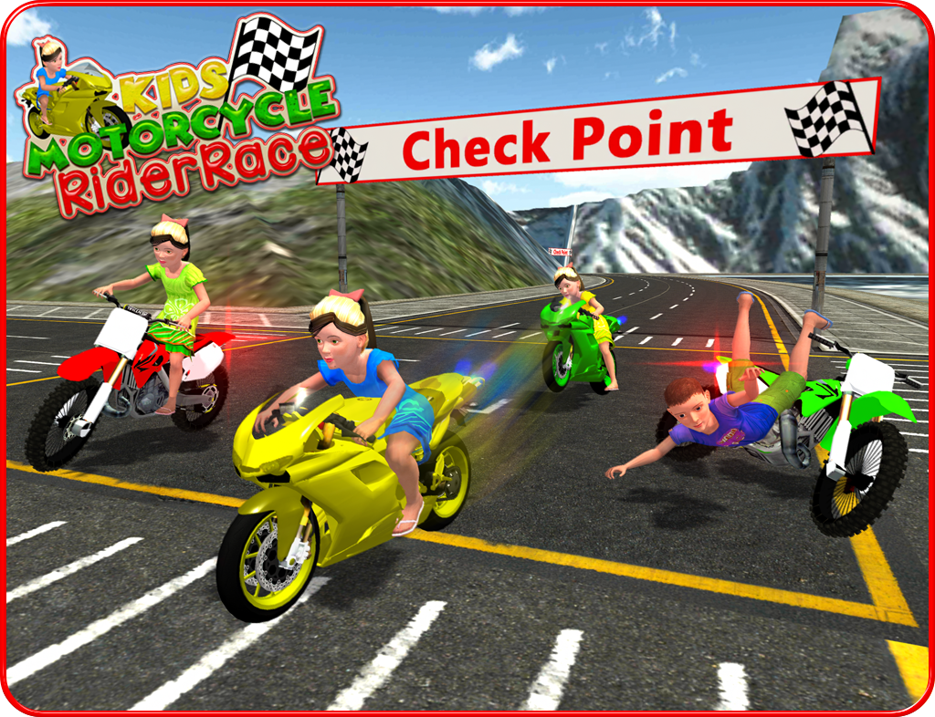 Kids MotorBike Rider Race 3D - Android Apps on Google Play
