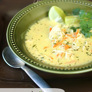 Coconut Lime Chicken Soup