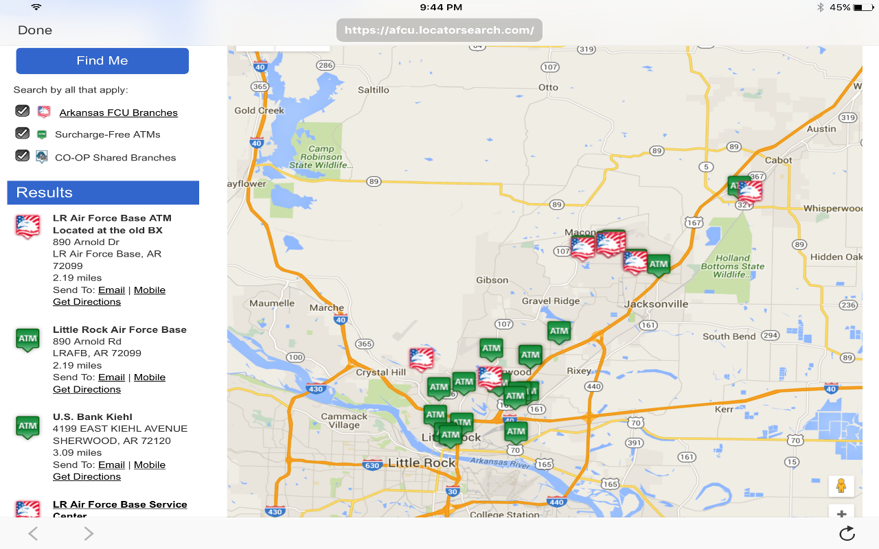 Arkansas FCU Mobile Banking- screenshot