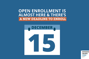 ACA Open Enrollment Deadline