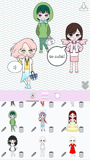 My Webtoon Character Girls - K-pop IDOL Maker ss3