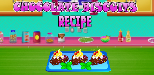 New Cooking game for Kids and Girls - Chocolate Biscuits Recipe