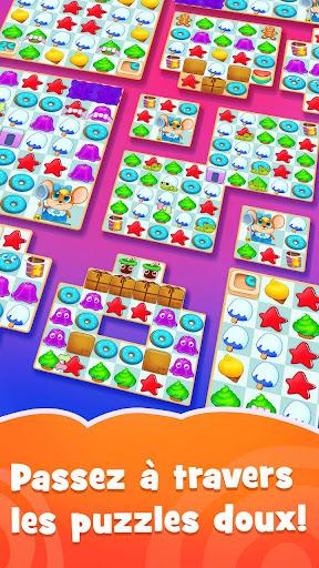 Candy Riddles: Gratuit Match 3 Puzzle  captures d'u00e9cran 2