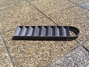 Photo: Lingotière faite avec des cornières en acier.