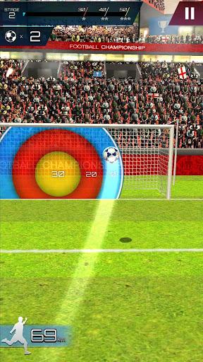 Football Championship-Free kick Soccer 1.1.0 screenshots 2