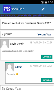 PYBS - Bursluluk Sınavı- screenshot thumbnail