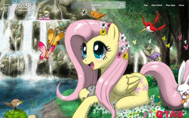 My Little Pony Wallpapers Theme New Tab
