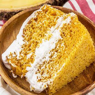 Pumpkin Angel Food Cake.