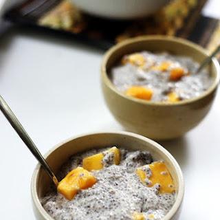 Mango Coconut Chia Pudding.