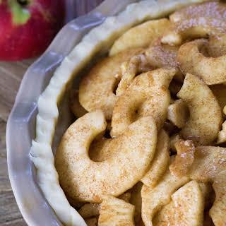 Rustic Vegan Apple Pie.