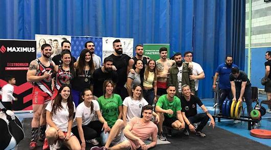 Elite Training Halt brilla en el Campeonato de Andalucía de Halterofilia