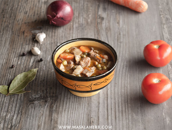 Winter Veal Stew - French Ragout