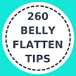 260 Tips to flatten Belly fat APK