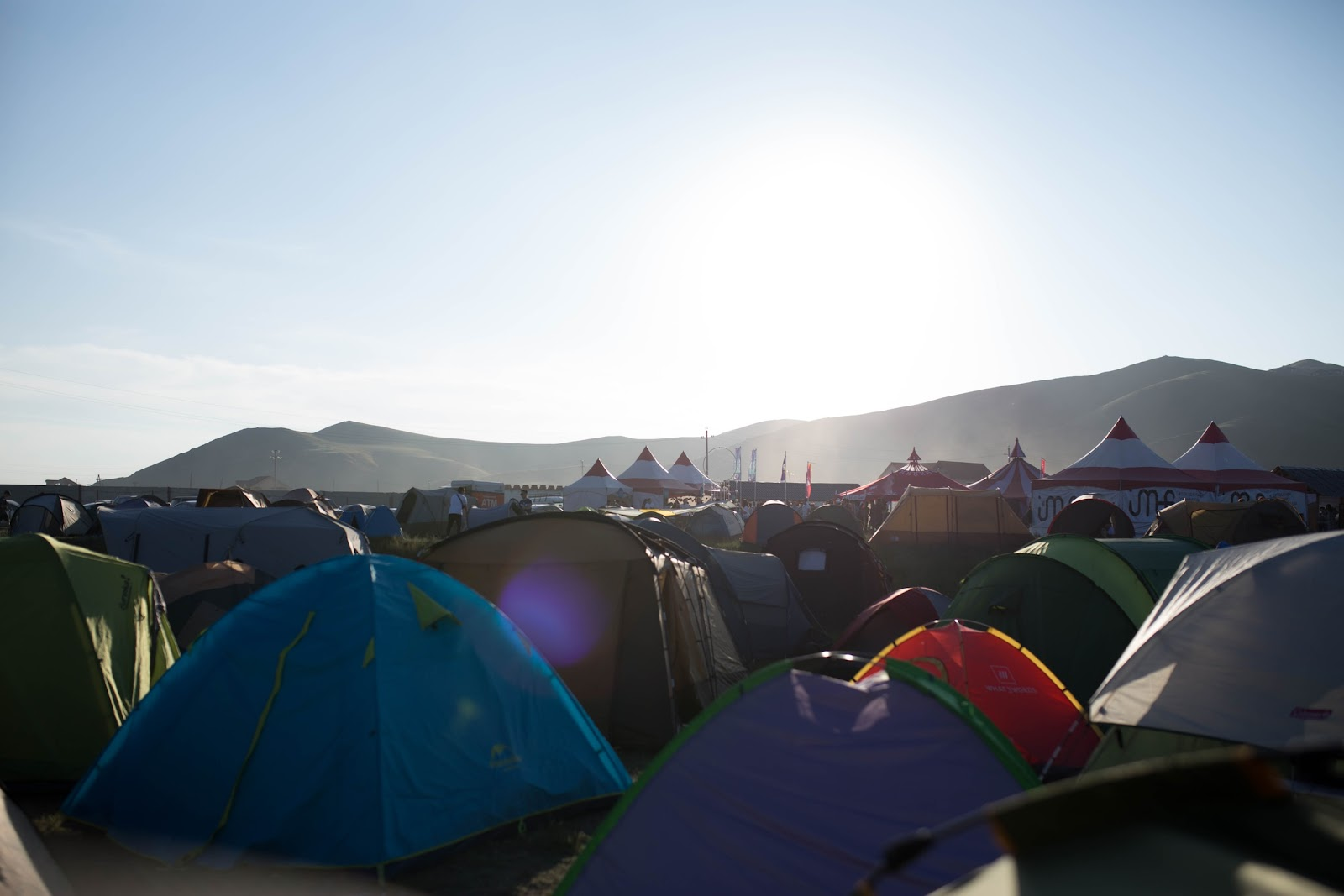 A fesztivál legizgalmasabb része lehet a sátrazás is.
