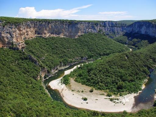 Les Gorges de L'Ardèche avec France moto voyages