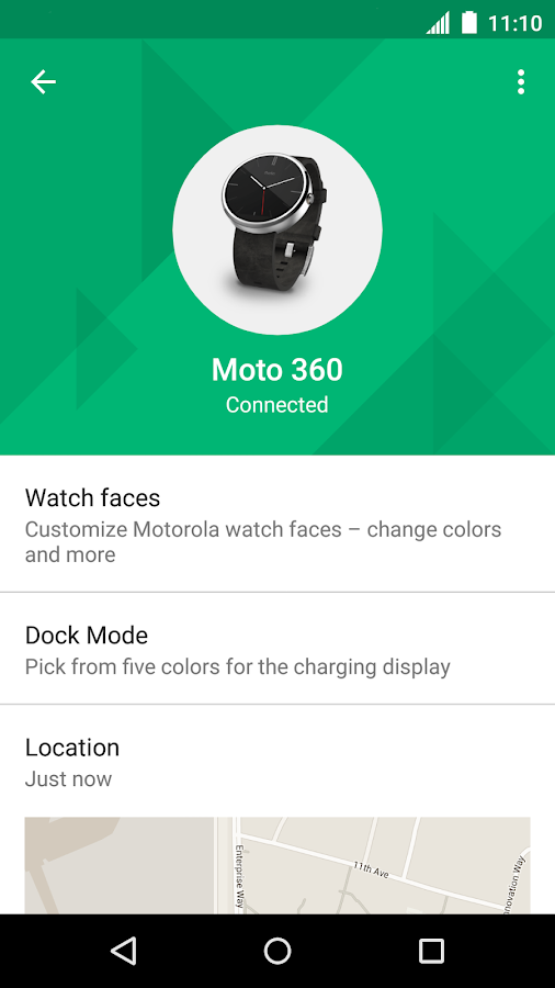 Motorola Connect- screenshot