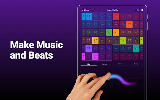 Groovepad - Music & Beat Maker 1.7.1 screenshots 11