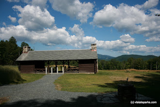Photo: View of new picnic pavilion at Coolidge State Park by Bill Schreiber