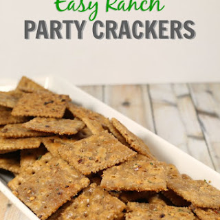 Easy Ranch Party Crackers.