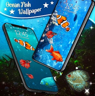 Ocean Fish HD Live Wallpaper- screenshot thumbnail