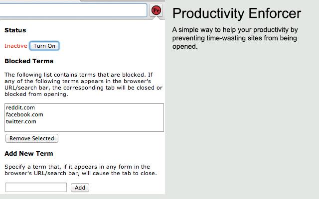 Productivity Enforcer