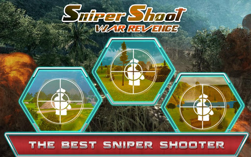 Sniper shoot war revenge
