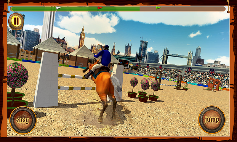 Horse Show Jumping Challenge- screenshot