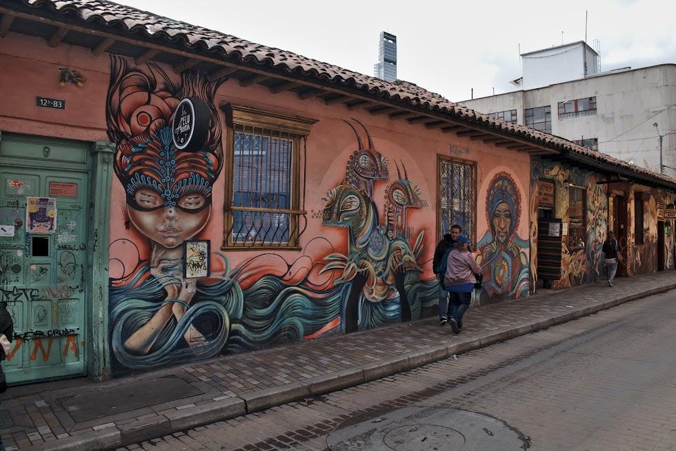 Street art w Bogocie