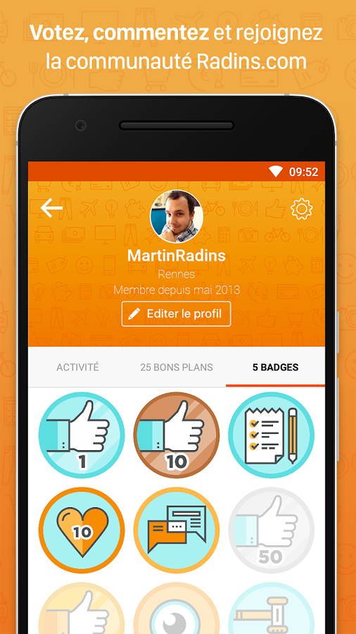 Radins.com – Mes bons plans- screenshot