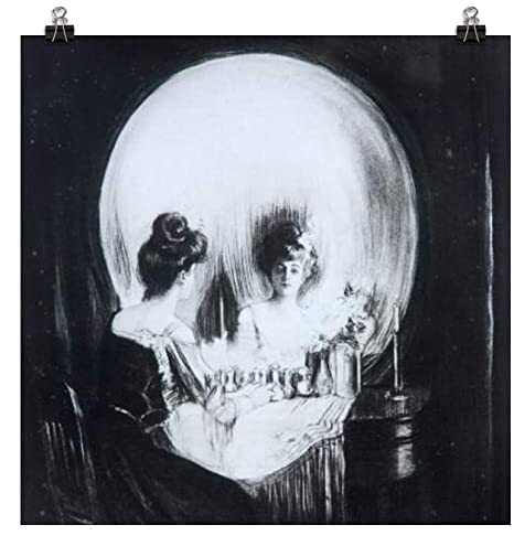 All is a Vanity (1892) .  By: Charles Allan Gilbert