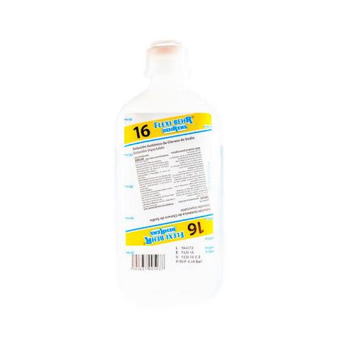 Solucion N16 Cloruro Sodio 9% 500Ml Behrens  Sodio 9% 500ml Behrens CLORURO DE SODIO (0,9%)