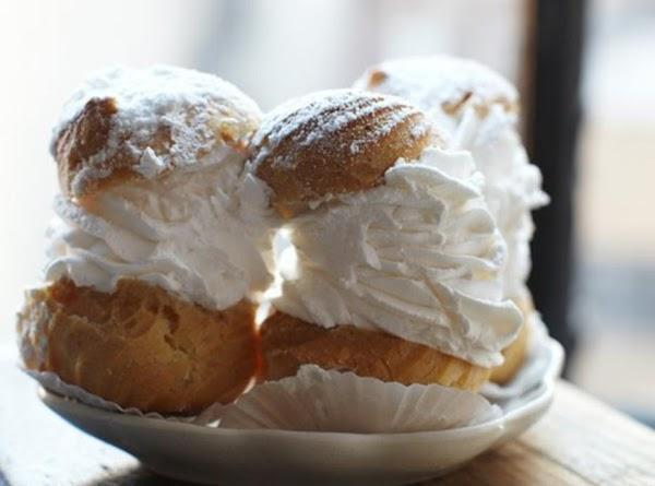 The Wisconsin State Fair Cream Puff Recipe
