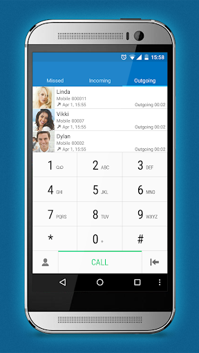 ExDialer Lollipop One M9 Theme