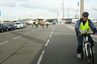 Photo: Arriving back in Calais