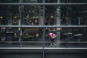 Photo: Vibrance In The Dreariness  Lots of rain here lately, or if it's not raining, my schedule hasn't worked out, so I haven't really been able to fully test my new D610 yet. Be that as it may, I did take it out earlier this week. A rainy day with my camera in Tokyo inevitably means a trip to the International Forum. I love the huge glass windows. They offer a lot of great opportunities no matter what the weather.  Blog post: http://lestaylorphoto.com/rainy-day-at-the-tokyo-international-forum/  #japan #travel #rainyday #nikon #d610