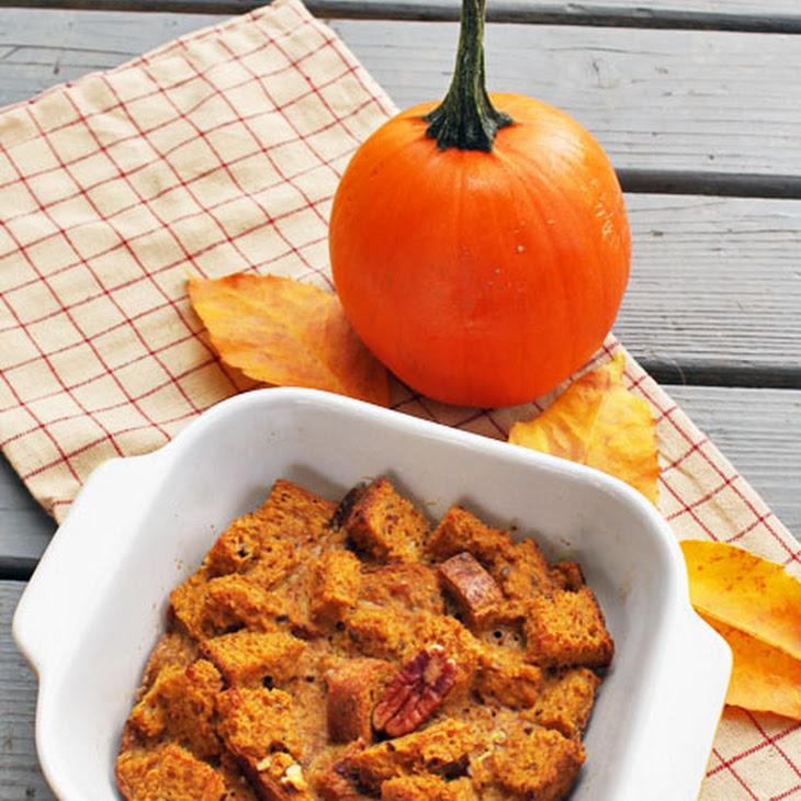 Pumpkin Pie Bread Pudding Recipe
