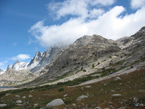 Photo: Coming in to Titcomb Basin