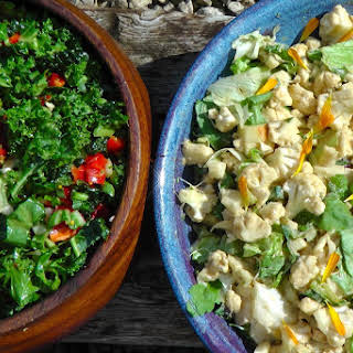 Raw Cauliflower Salad Recipes.
