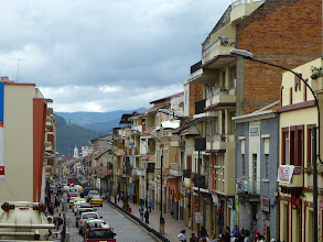 Photo: Old Cuenca street'