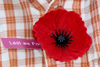 Photo: Year 2 Day 145 -  Unfortunately, Many People Have Already Forgotten (Seen Only a Couple of Other Poppies Here in Aus)