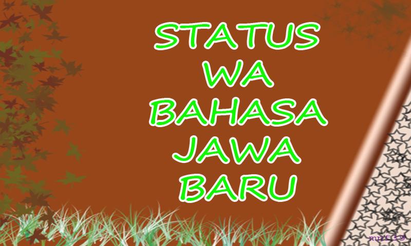 Stiahnite Si Status Wa Kata Bijak Bahasa Jawa Apk Najnovšiu