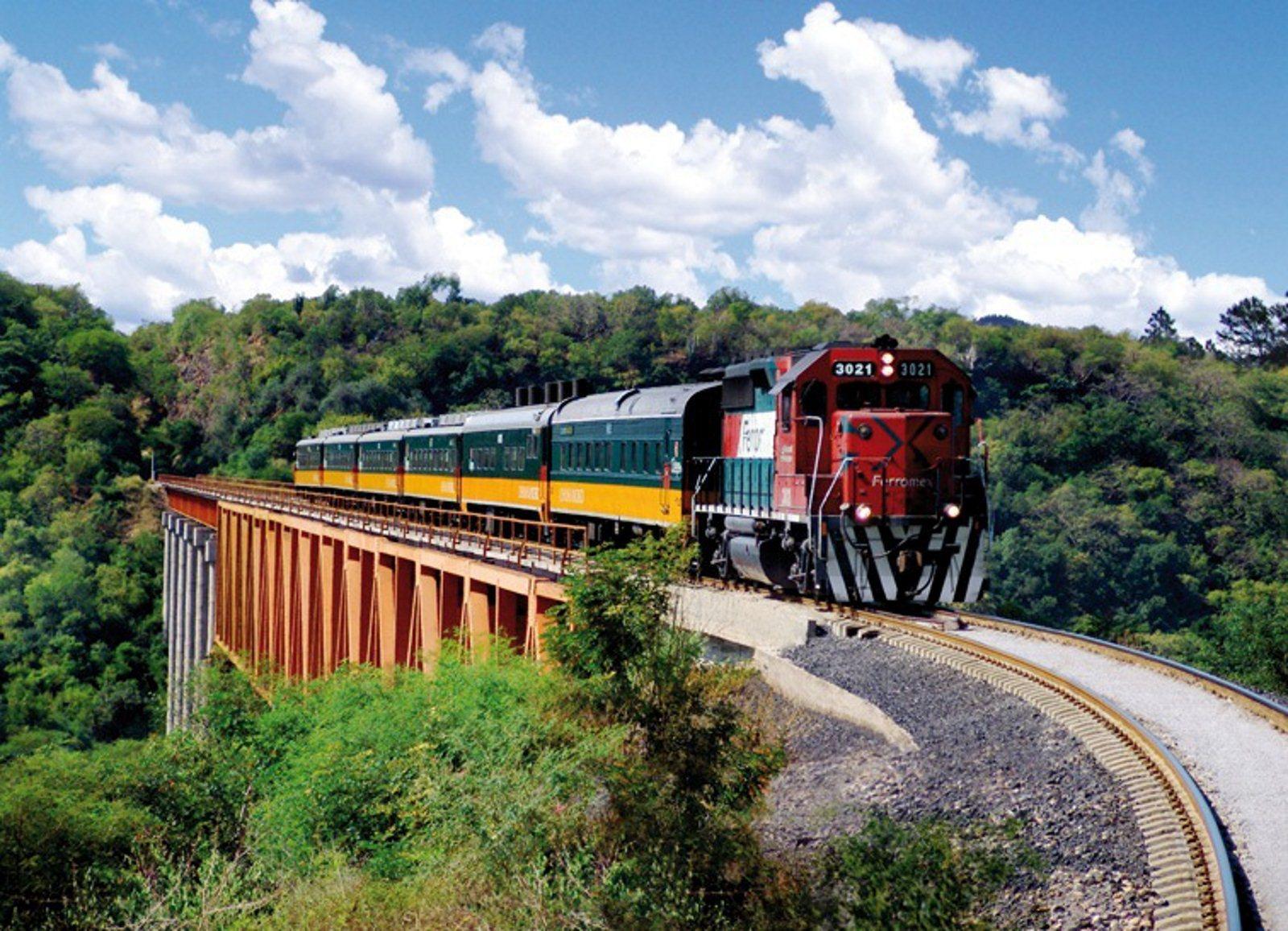 Tren de carga pasando por unos rieles  Descripción generada automáticamente